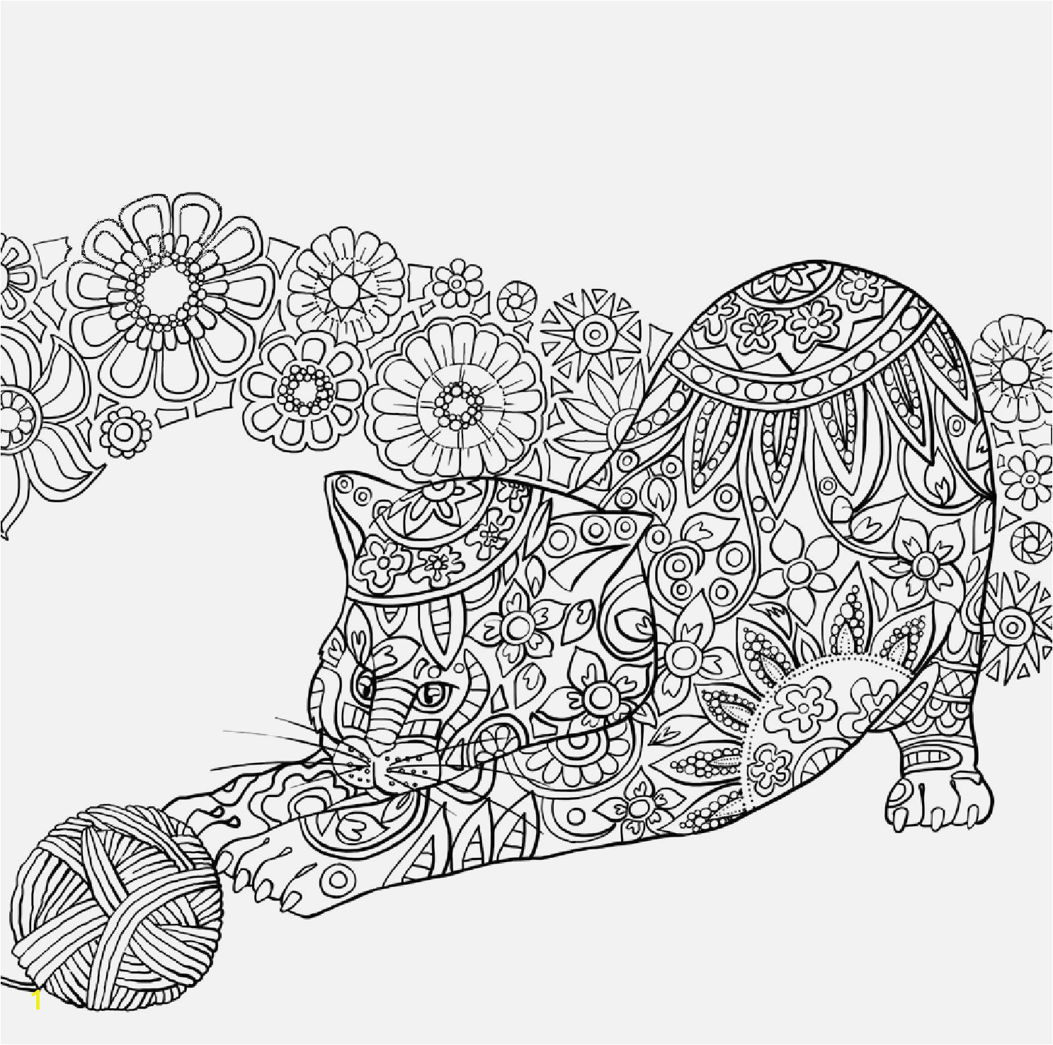 Free Coloring Pages for Kids Printable Mandala Coloring Pages Animals Cool Od Dog Coloring Pages