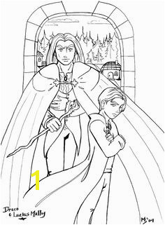 Draco Malfoy Coloring Pages 230 Best Color Me Pretty Harry Potter Images