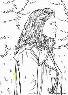 Harry Potter coloring From Harry Potter and the Goblet of Fire Coloring Book