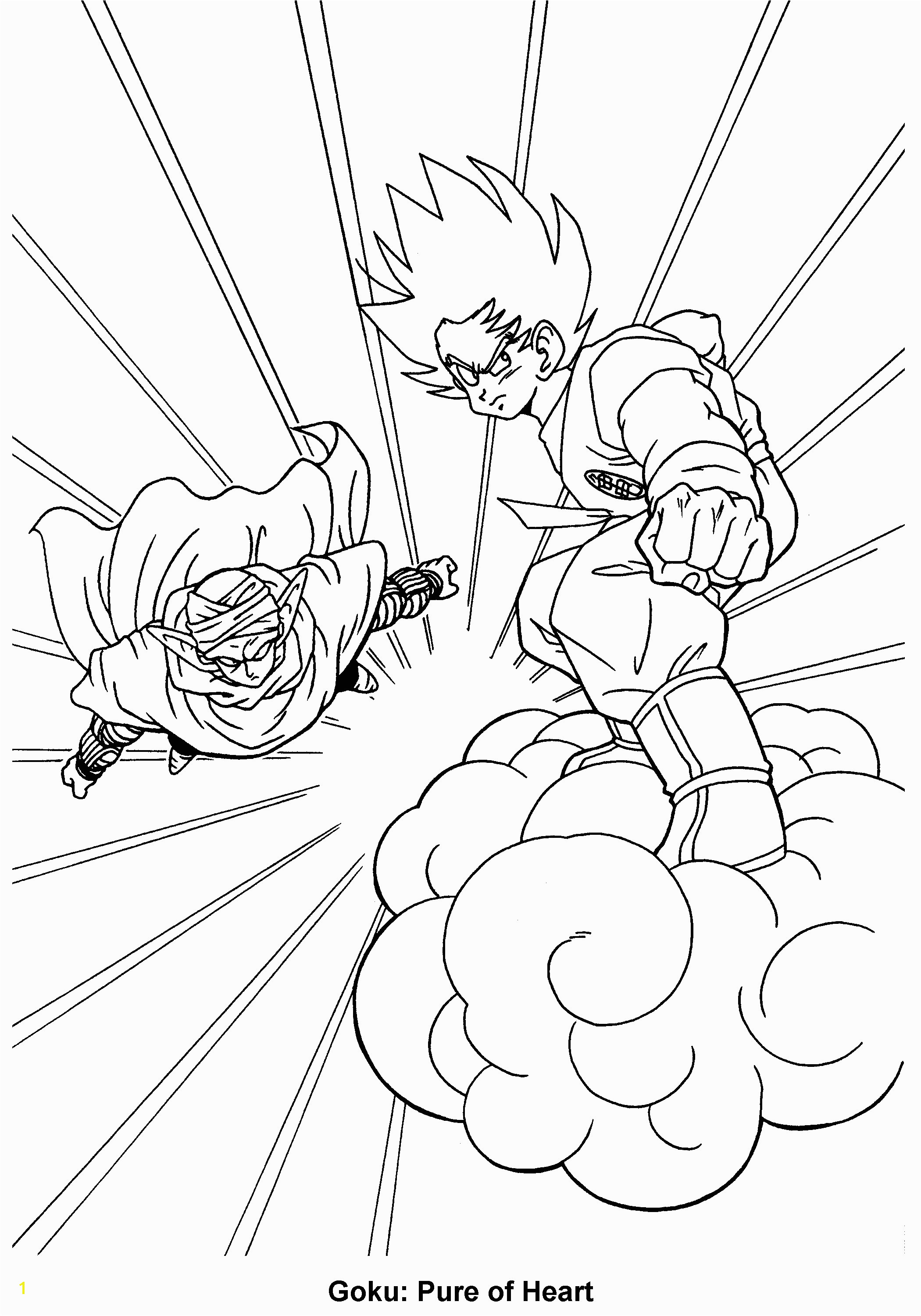 Dragon Ball Z Coloring Page Coloring Pages Epicness Schön Dragonball Ausmalbilder