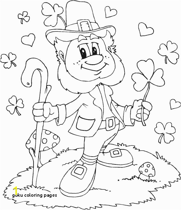 Goku Coloring Pages Leprechaun Coloring Pages I Pinimg 736x 0d 0d Ff Cute Coloring Pages Goku Coloring Pages 41 Besten Unitau Dragon Ball Z Pb Black