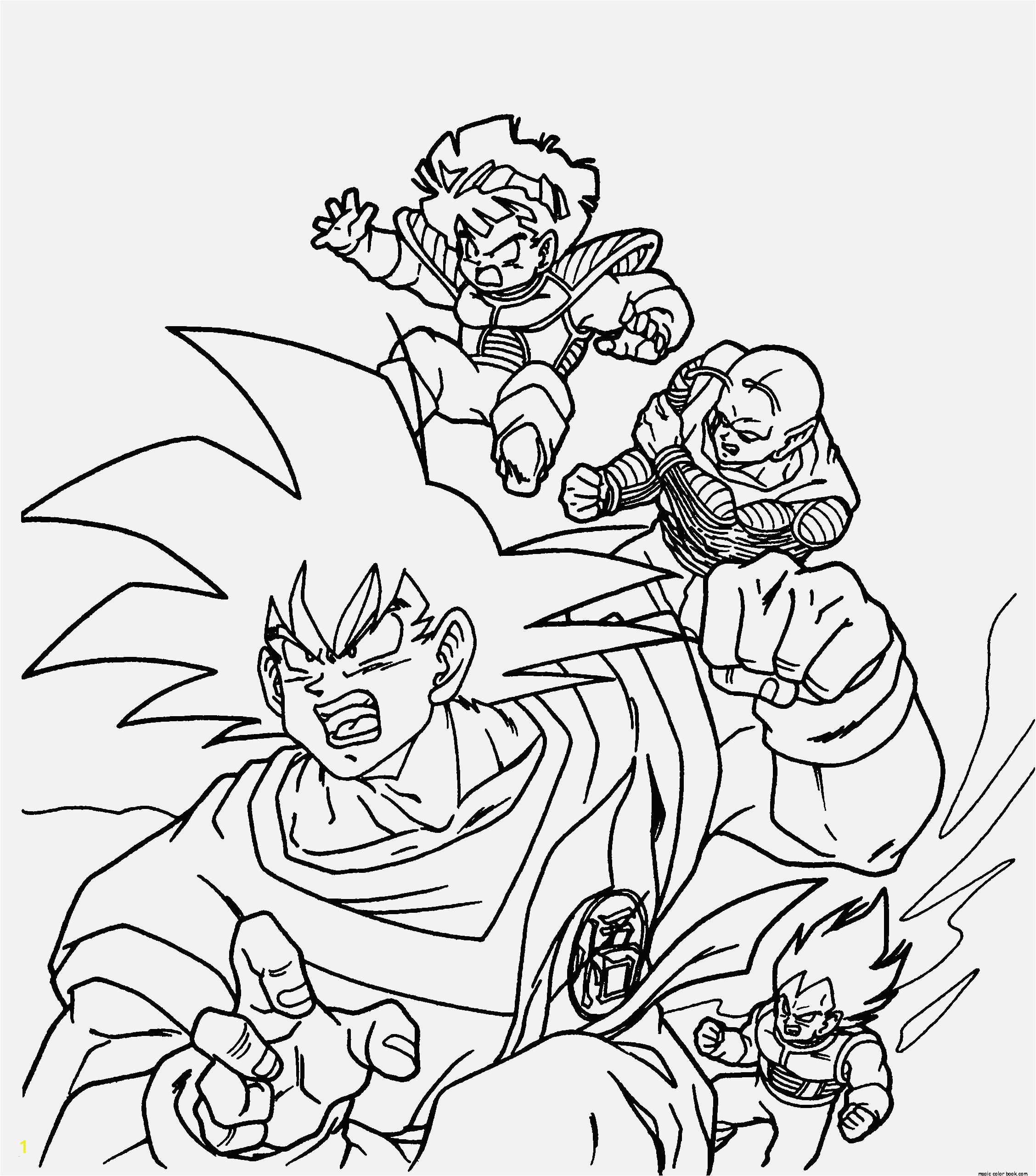 Dragon Ball Z Black and White Coloring Pages Dragons Ausmalbilder Eine Sammlung Von Färbung Bilder Dragon Ball Z