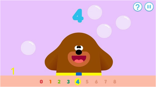Hey Duggee The Counting Badge