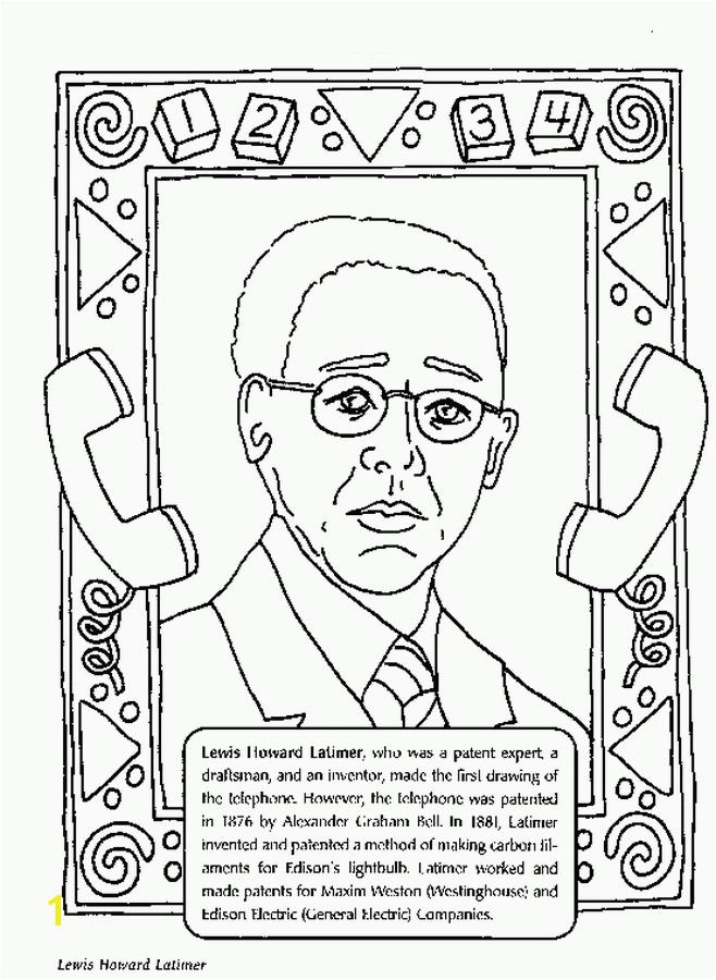 Duke Ellington Coloring Page Black History Month Coloring Pages Black History