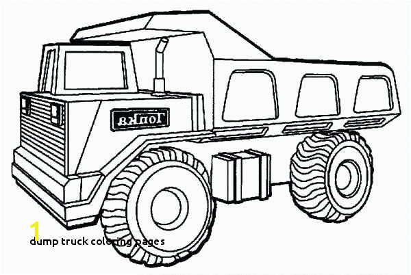 Dump Truck Coloring Pages Garbage Truck Coloring Page Tipper Truck Full Od Sand Coloring Page