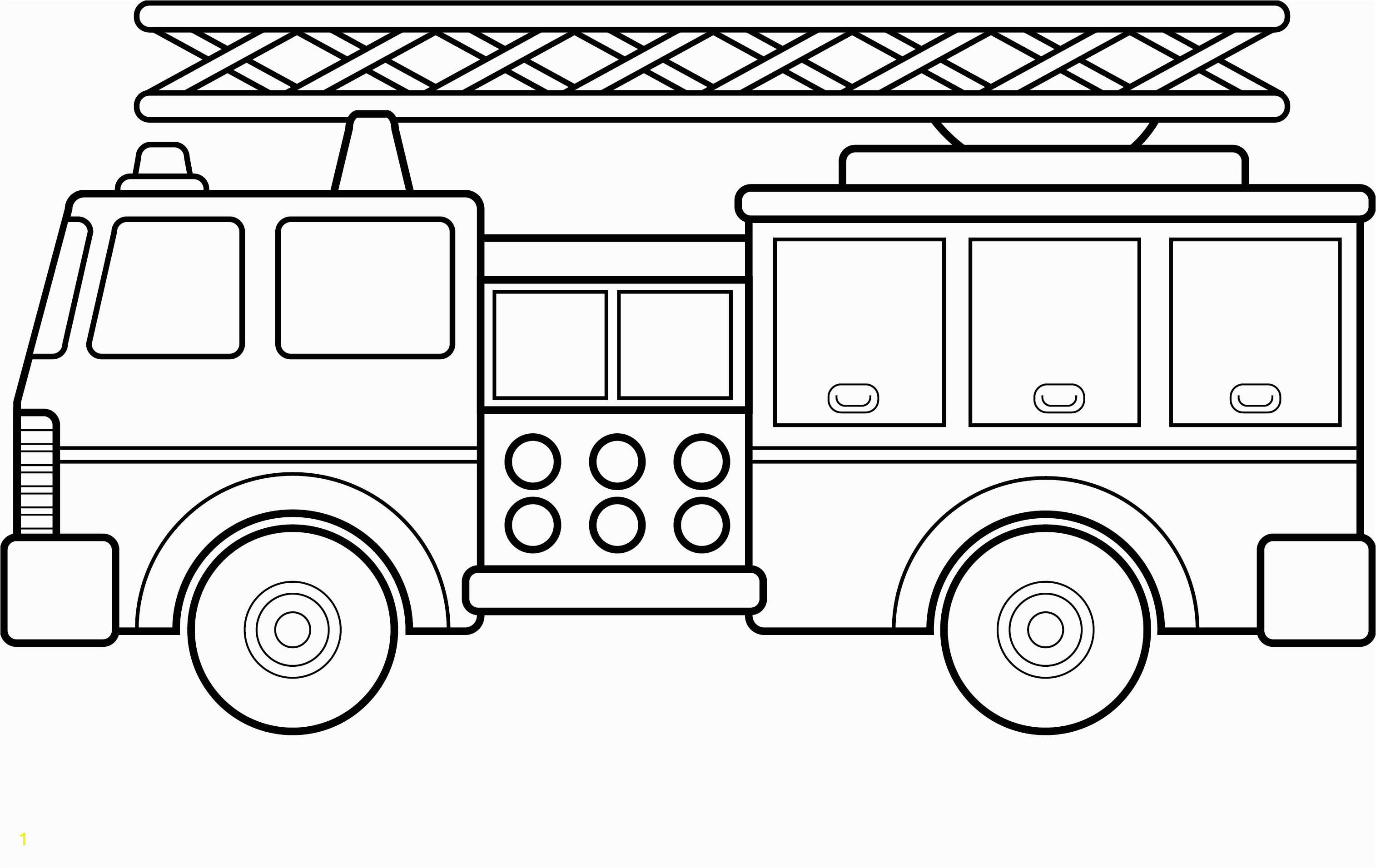 Fire Truck Coloring Pages Free Fire Truck Coloring Pages Printable Elegant Big Fire Truck Coloring