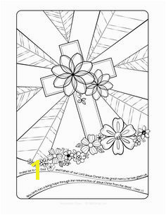 Free Easter Cross Adult Coloring Page Bible Coloring Pages Coloring Pages For Kids Cross