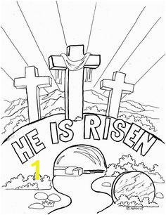 Church easter coloring pages Easter Coloring Pages For Kids Easter bible coloring s jesus appears to mary magdalene Free easter coloring pages