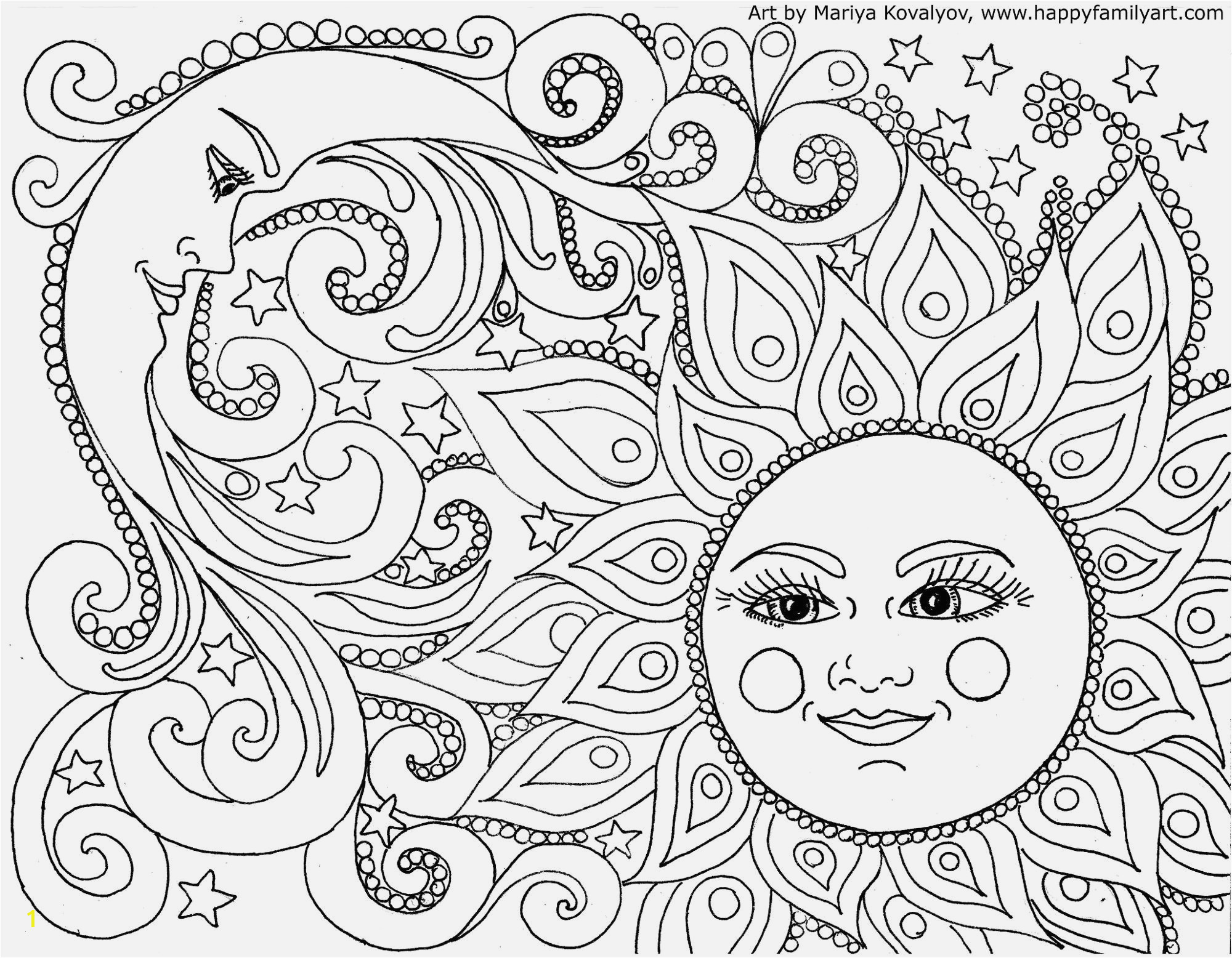 Easy Coloring Pages for Adults to Print Funny Coloring Pages for Adults Easy and Fun Witch Coloring Page