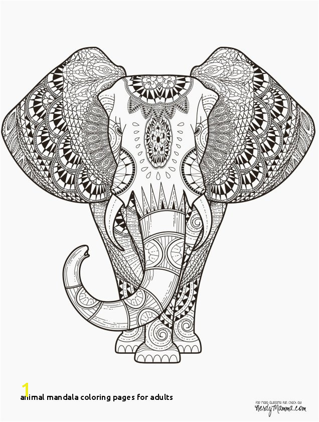 Animal Mandala Coloring Pages for Adults Awesome Easy Animal Coloring Pages Inspirational New Od Dog Coloring