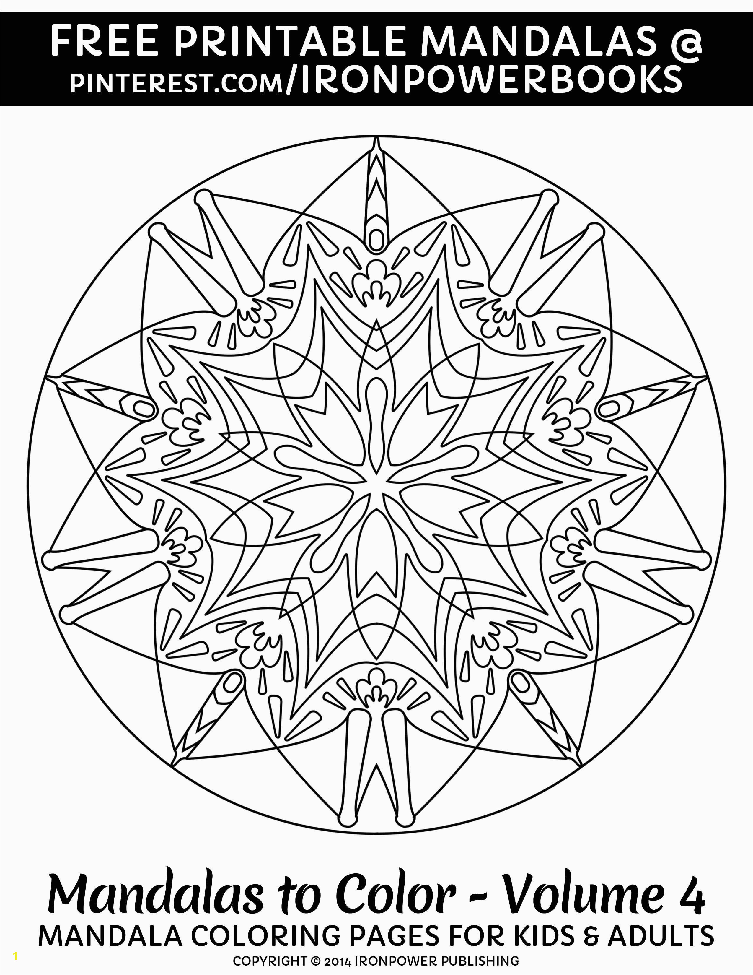 Free Printable Mandala Coloring Pages for Stress Relief or as Art Therapy For more Easy
