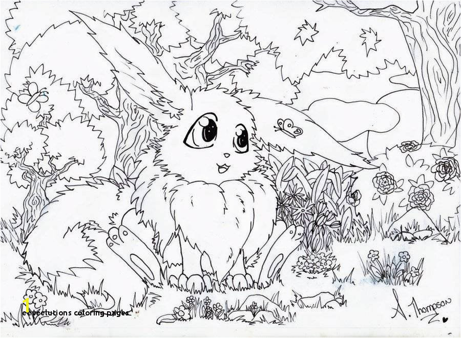 Eeveelutions Coloring Pages Eevee Evolutions Coloring Pages Lovely Print Pokemon Coloring Pages
