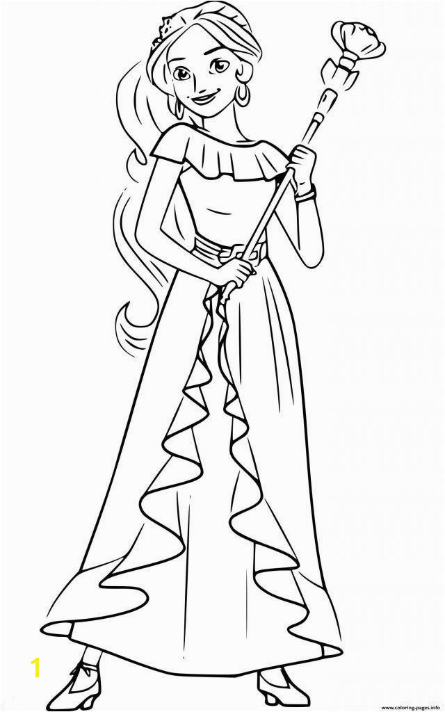 Elena Coloring Pages Elegant Elena Avalor Coloring Pages to Print Awesome Energy Princess Ideas Elena