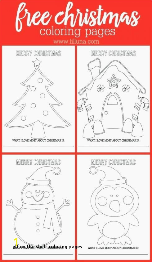 Elf the Shelf Coloring Pages Elf A Shelf Coloring Pages Free Inspirational Unique Coloring