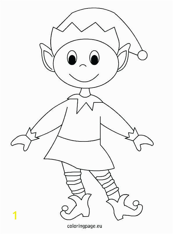 Elf On A Shelf Coloring Pages Free Elf the Shelf Coloring Sheets Best S Crayola Coloring Mal