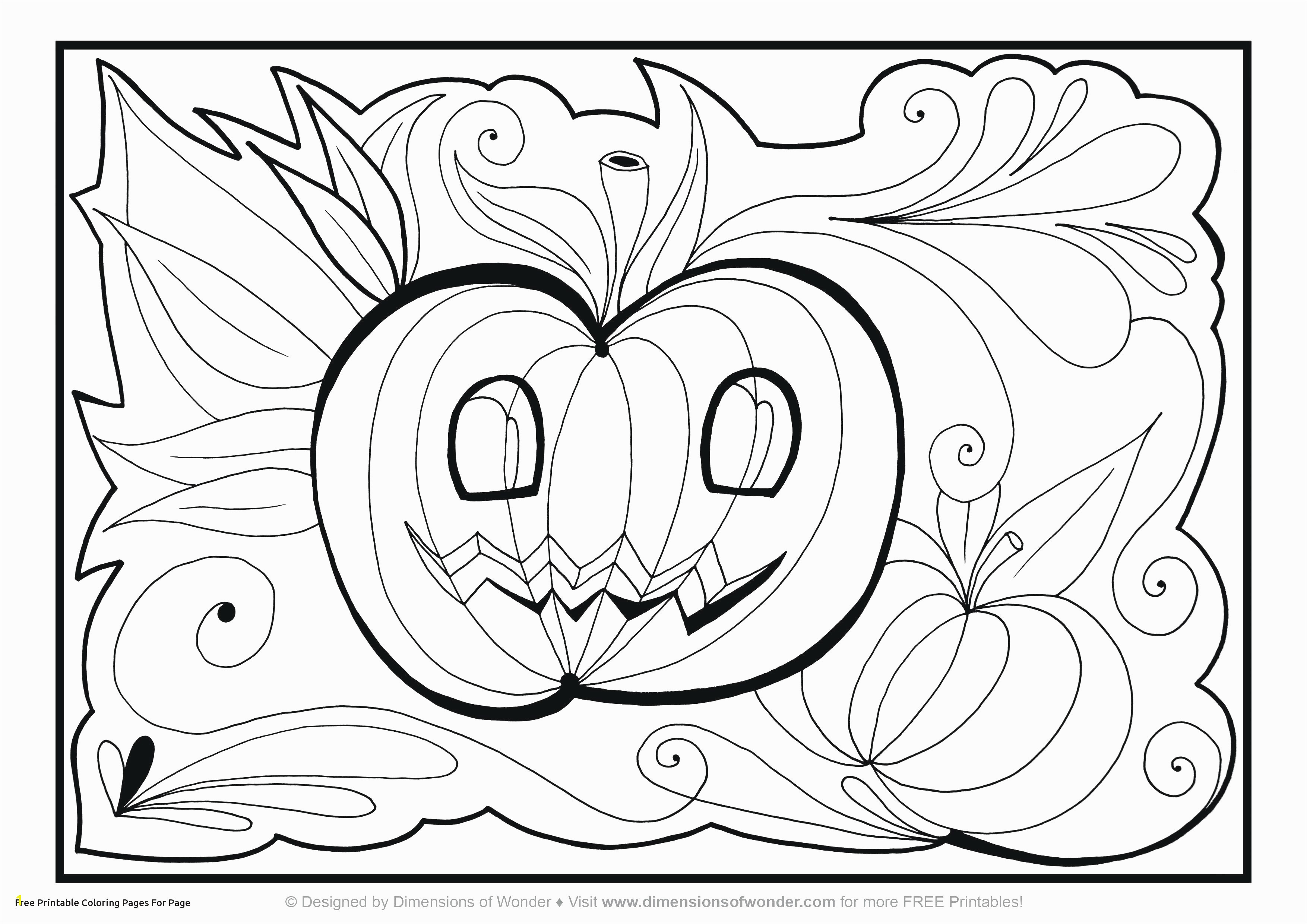 Free Halloween Coloring Page Stylish Printable Home Coloring Pages Best Color Sheet 0d – Modokom –