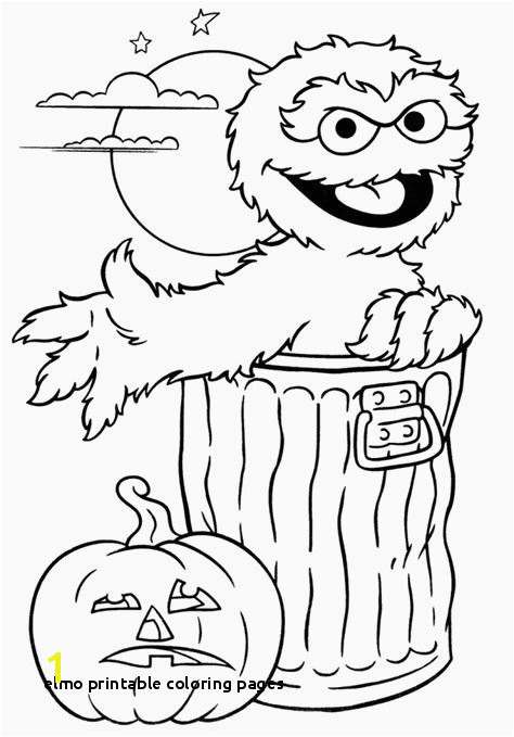 Elmo Printable Coloring Pages Elmo Halloween Coloring Pages Fresh Fresh Printable Coloring Book
