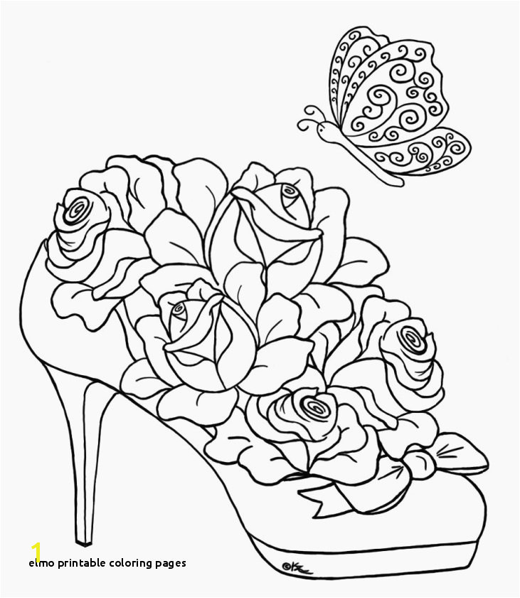 28 Elmo Printable Coloring Pages