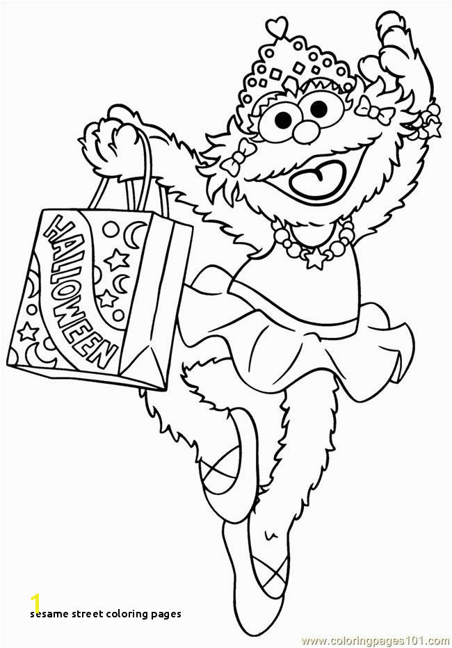 elmo halloween coloring pages print printable sesame street