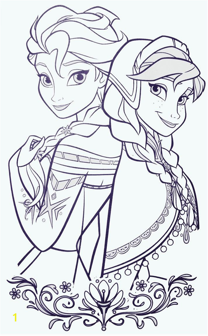Elsa and ANna Frozen Colouring Pages Free Disney Coloring Pages Colouring Pages For Kids