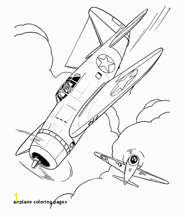 Airplane Coloring Pages World War 2 Airplane Colouring Pages