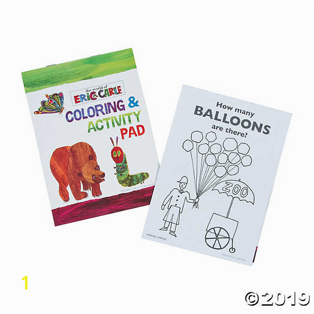 Eric Carle Coloring Pages 1