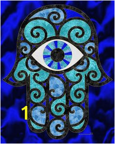 Hamsa Coloring Page and Embroidery Patterns