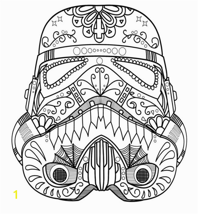 Star Wars Free Printable Coloring Pages for Adults & Kids Over 100 Designs DIY Ideas