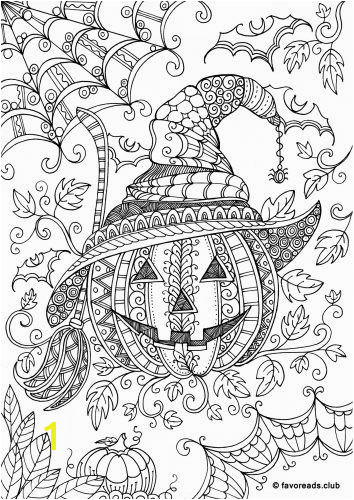 Check out this cute witch ting ready for Halloween But first try to relax and have fun with this adult coloring page before the Halloween craze takes