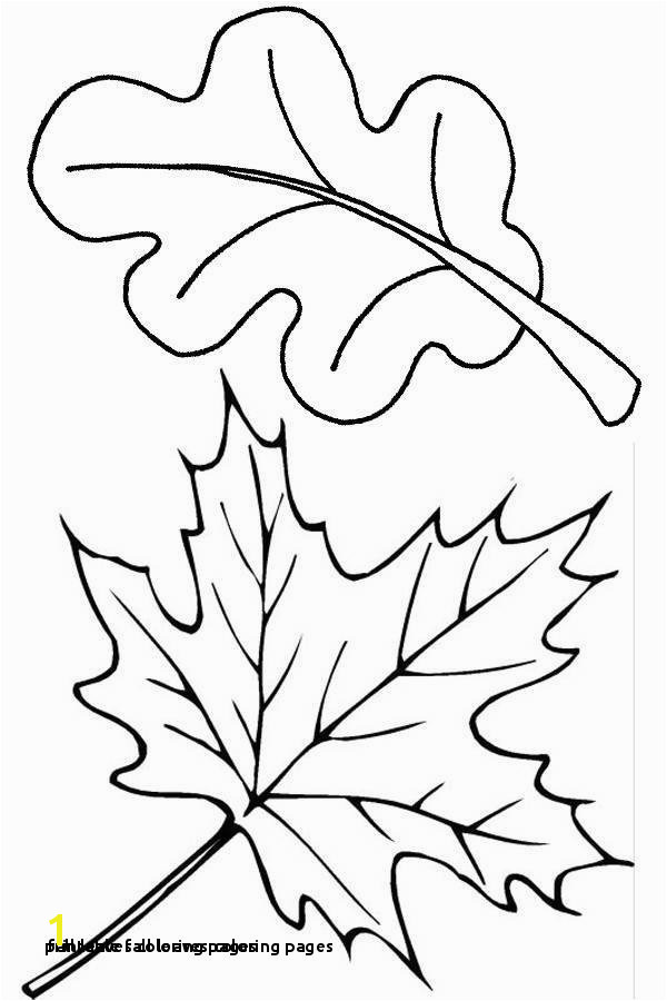 Fall Leaves Clip Art Coloring Pages 24 Printable Fall Leaves Coloring Pages