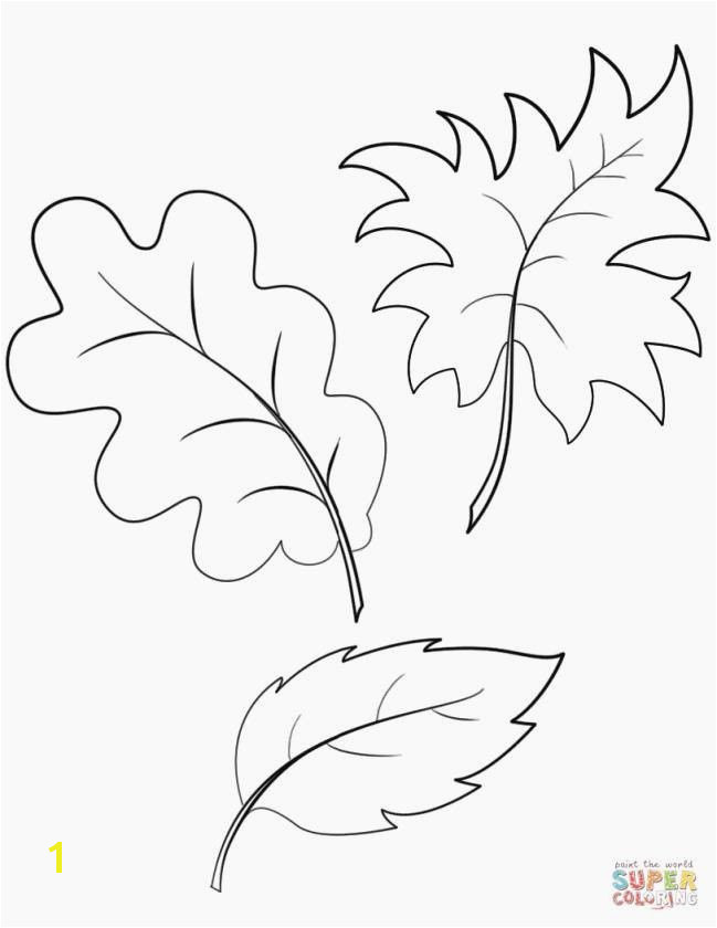 Free Printable Leaf Coloring Pages New Printable Leaves Best Printable Cds 0d Fun Time Free