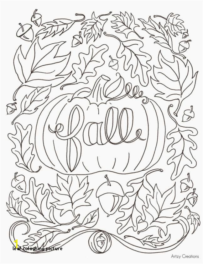 Printable Cds 0d Fun Leaf Colouring Picture Luxury Fall Coloring Pages for Kids Best Coloring Printables 0d