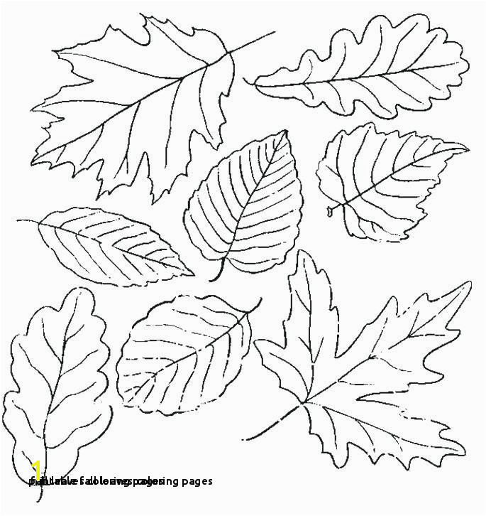 Printable Fall Leaves Coloring Pages Fall Leaves Coloring Pages Best Printable Cds 0d Fun Time Free