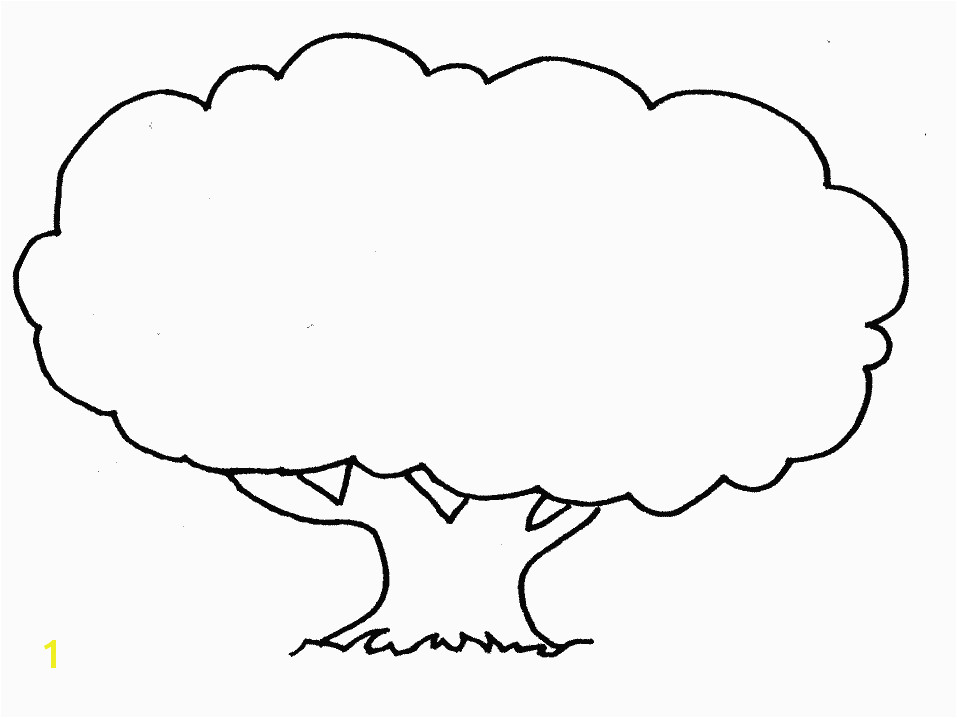 free printable tree coloring pages for kids printable pictures