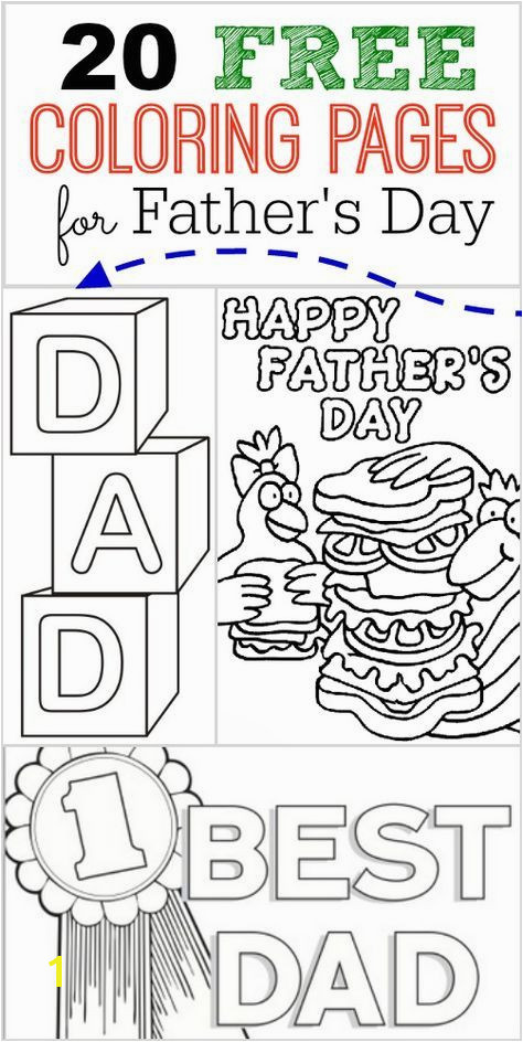 20 FREE Father s Day Coloring Pages perfect for your kids to make for dad
