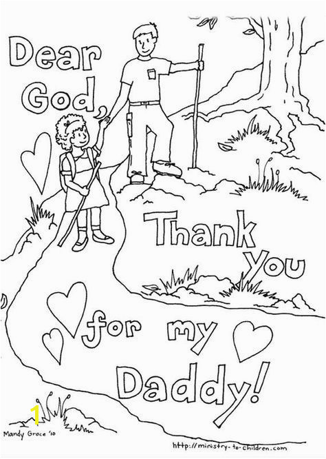 Fathers Day Coloring Page Coloring Pages For Kids Kids Colouring Coloring Sheets