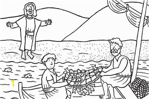 Jesus Feeds 5000 Coloring Page Beautiful Jesus and Friends Coloring Pages Fresh Disciples Od Christ Catching