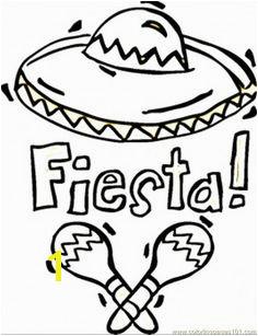 fiesta coloring sheets