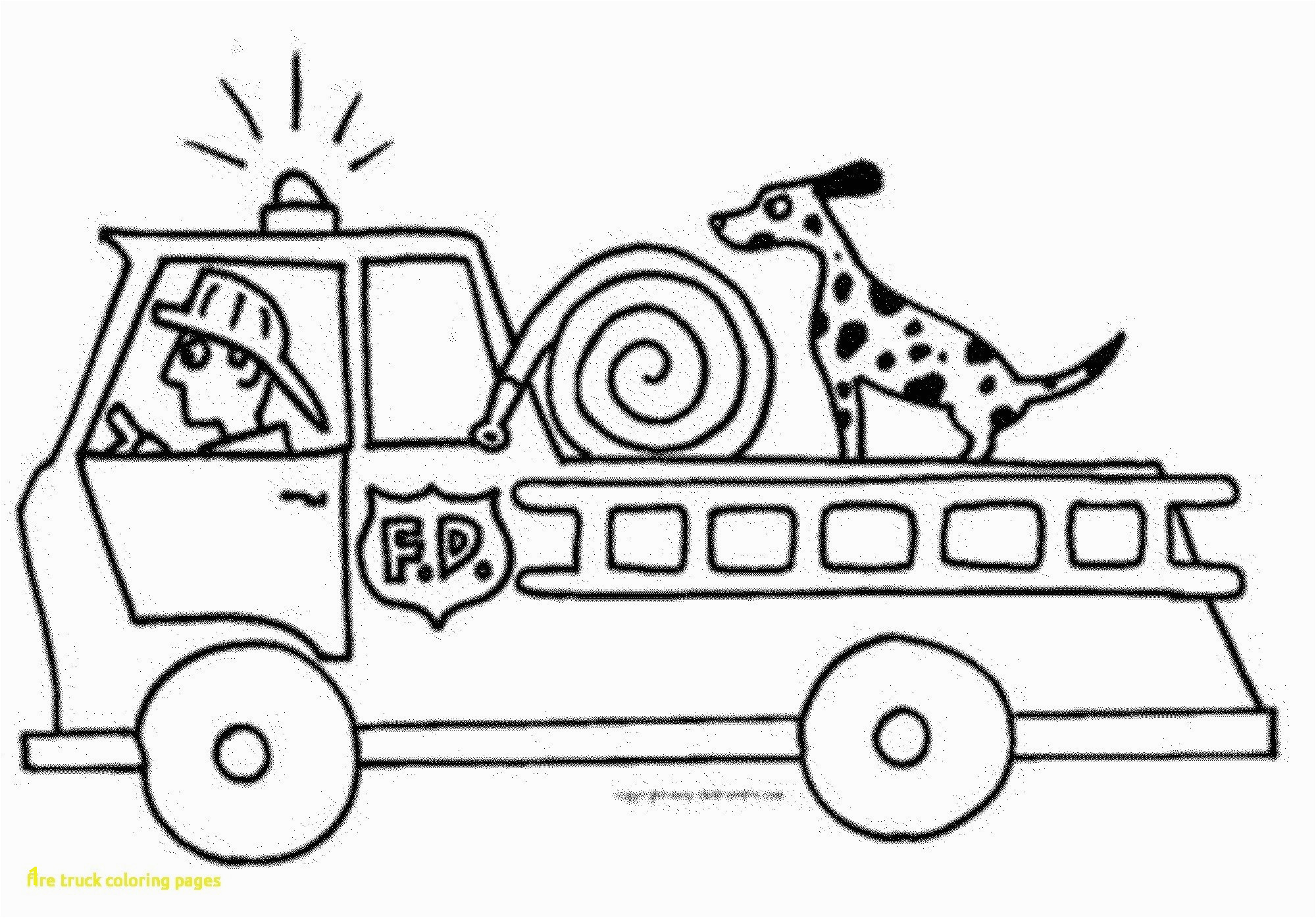 Fire Truck Coloring Pages Free Coloring Pages Fire Truck Coloring Page Color A Unusual Sheets