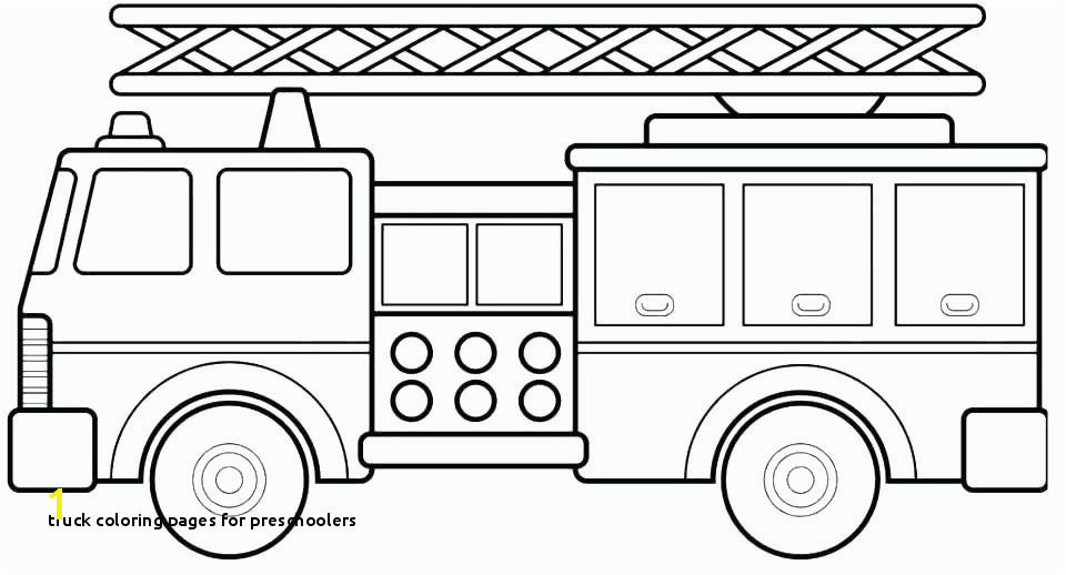 Firetruck Coloring Page Coloring Books And Fire Truck Coloring Pages
