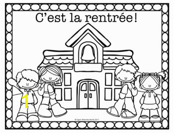 Spanish French & German Back to School Coloring Pages FREEBIE