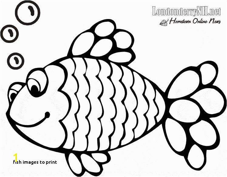 Fish to Print Printable Bass Fish Coloring Pages Inspirational Printable Od Dog