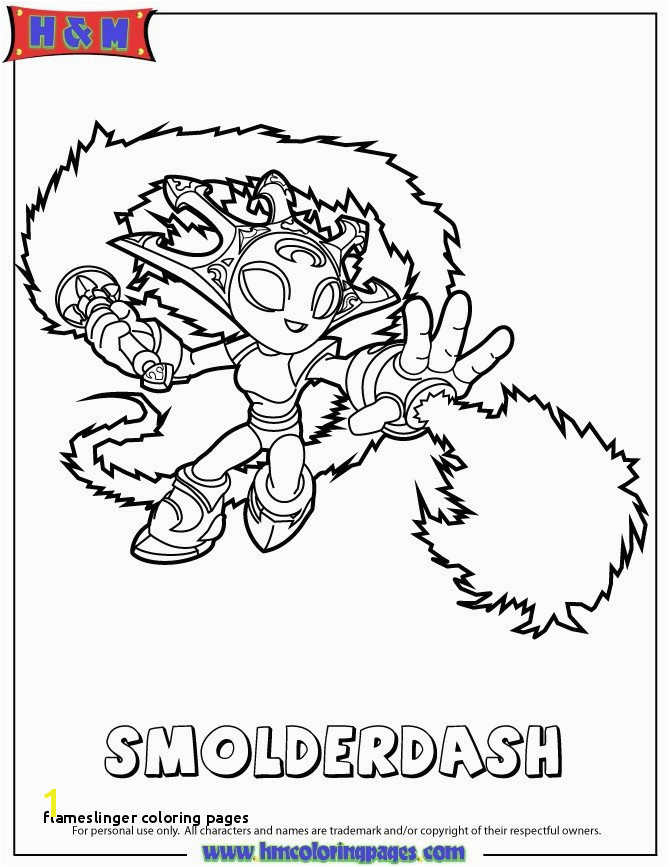 20 Beautiful Flameslinger Coloring Pages
