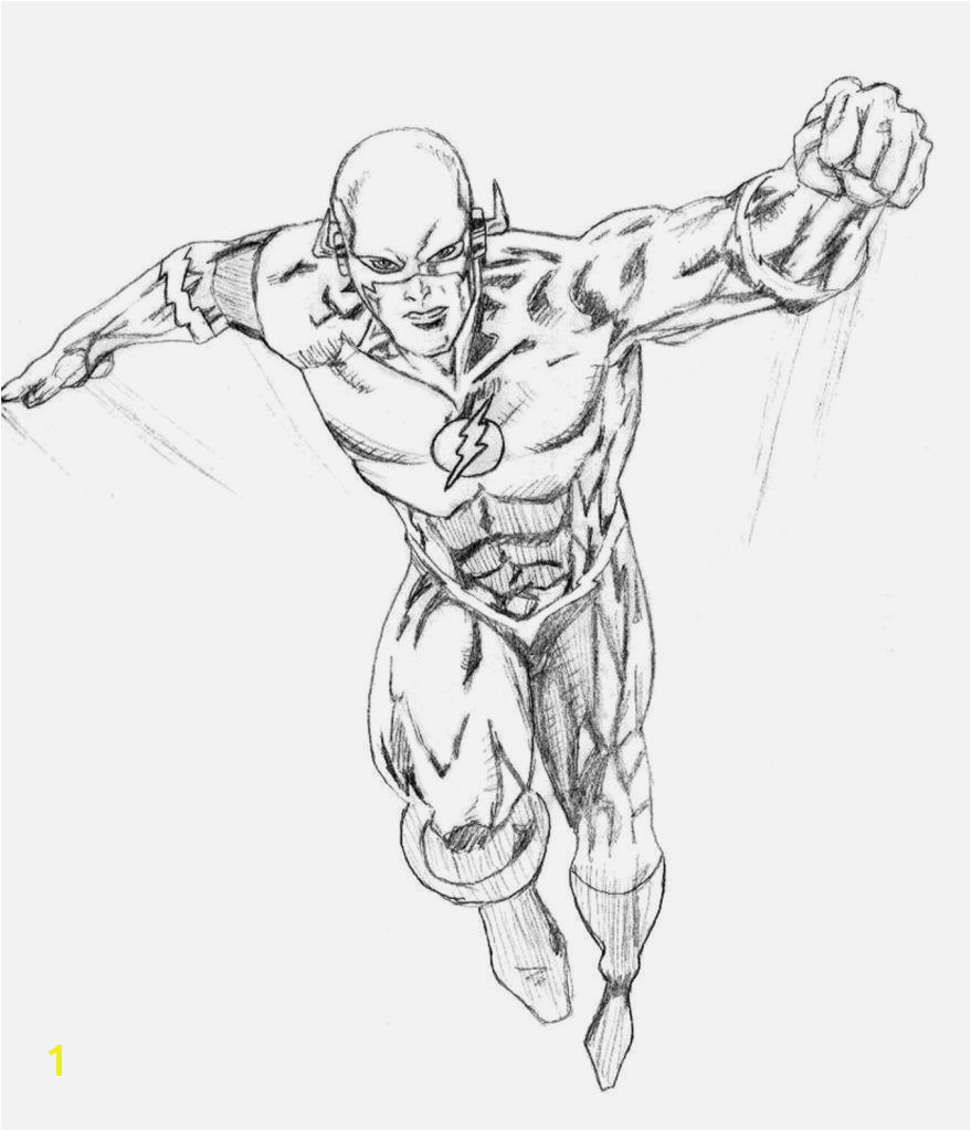 Flash Superhero Coloring Pages Spannende Coloring Bilder Flash Malvorlagen