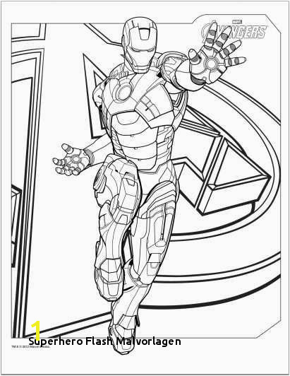 Avengers coloring pages for the superhero junkies