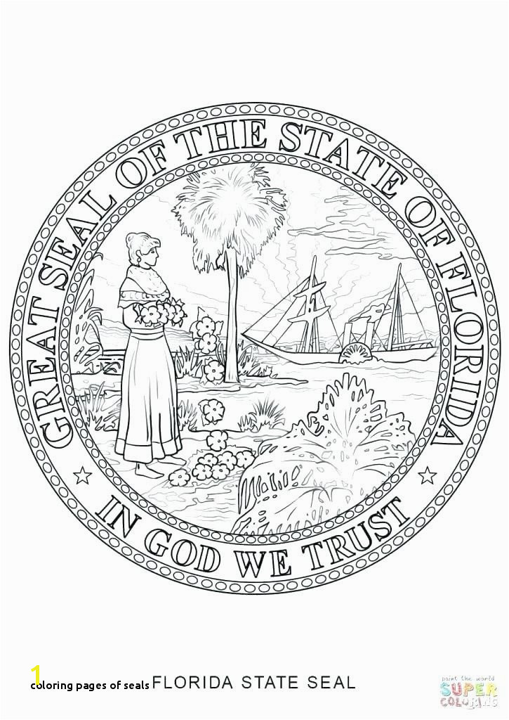 Coloring Pages Seals oregon State Flag Coloring Page Awesome New York Flag Coloring Page