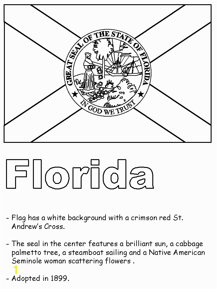 Florida State Seminoles Coloring Pages Florida State Symbols Coloring Pages
