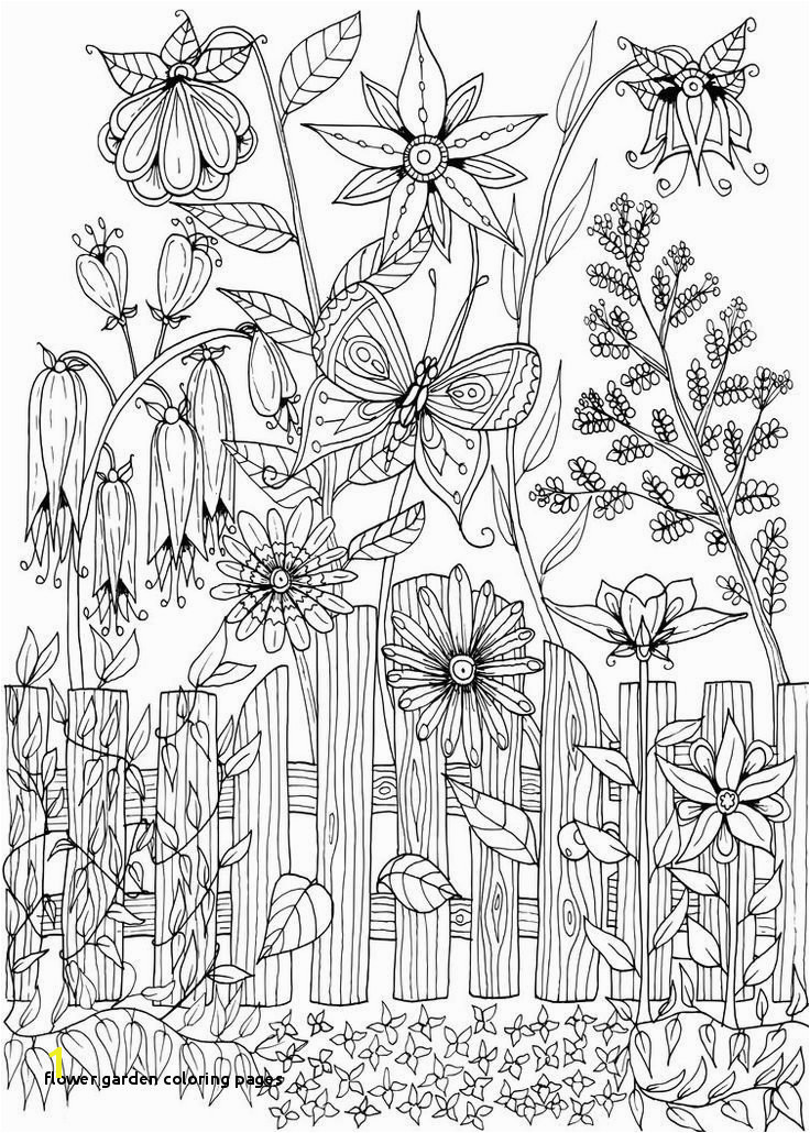 Flower Garden Coloring Pages 28 Garden Coloring Pages Garden Gate Doodle by WelshPixie on DeviantArt Art