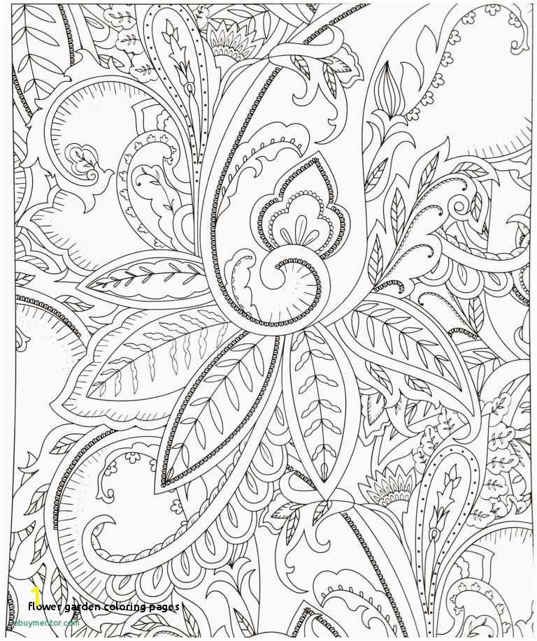 Flower Garden Coloring Pages the Future Cool Flower Designs