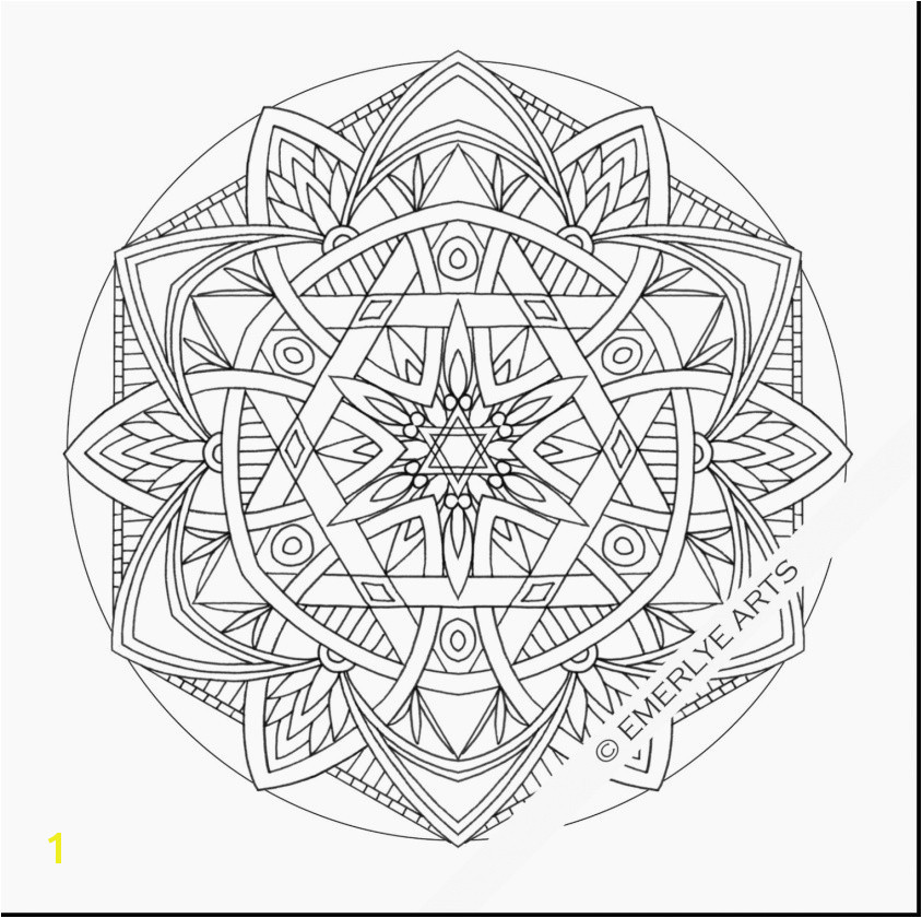 Gallery of Free Mandala Coloring Pages